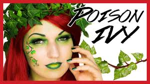 Poison Ivy Halloween Makeup U0026 Costume Tutorial Youtube