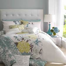 Teal And Grey Bedroom by Teal And Grey Bedroom Teal Yellow And Grey Bedding Picture