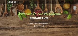 themes wordpress restaurant free 10 best free restaurant wordpress themes wparena