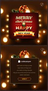 cards for happy new year merry christmas happy new year card by papanderos codecanyon