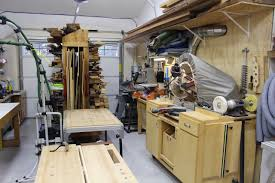 Garage Shop Designs by Others Ultimate Workshop Garage Woodshop Garage Workshop
