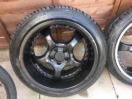 nissan skyline stud pattern shaper alloy wheels in carshalton london gumtree