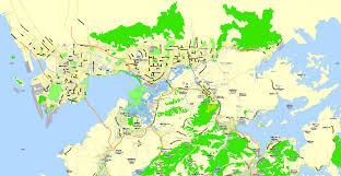 printable maps hong kong printable map hong kong shenzhen china exact vector map adobe