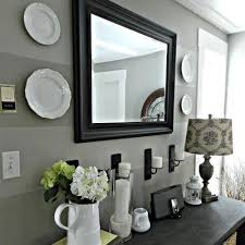 Hallway Console Table And Mirror Gorgeous Console Table With Mirror With Furniture Mirror