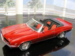 69 camaro apple 1969 camaro ss rs convertible restomod scale auto magazine
