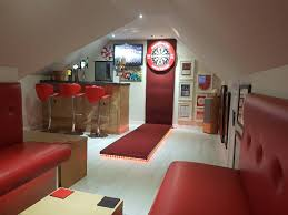aberdeen football fan in running to win games room of the year