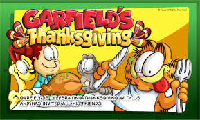 garfield happy thanksgiving festival collections