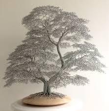 wire tree sculpture wirewood