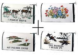 bacova decorative fiberglass mailboxes with 100 designs
