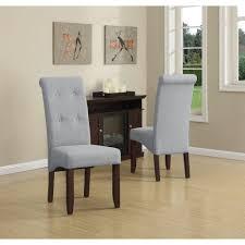 Parsons Dining Chair Simpli Home Cosmopolitan Natural Parsons Dining Chair Set Of 2