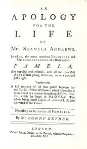 how to write a literary criticism paper an apology for the life of mrs shamela andrews wikipedia