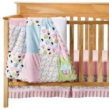 Cupcake Crib Bedding Set Trend Lab Cupcake 3pc Bedding Set Pink Turquoise Baby Nursery