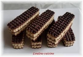 cuisine de loulou gaufrettes au chocolat et à la gaufrettes à la vanille la cuisine