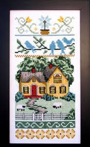 Country Cottage Cross Stitch Country Cottage Needleworks Cottage Alphabet Cross Stitch