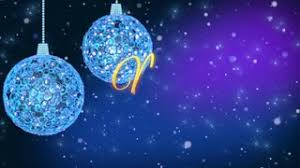 Blue Christmas Decorations Background by Christmas Decorations On Red Background With Copy Space Loop