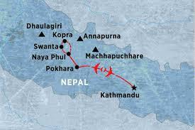 Nepal On Map Nepal Tours Trekking U0026 Travel Peregrine Adventures De