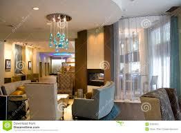 Luxury Lobby Design - luxury hotel lobby living room interiors royalty free stock photo