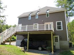 Carport With Storage Plans Carport Deck Designs Carport With Deck Above In Front Of The