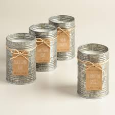 galvanized antique candle tin collection wax kitchens and metal