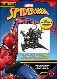 learn draw marvel u0027s spider man draw favorite