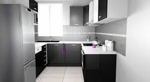 meuble de cuisine noir laqué enchanteur cuisine noir et blanc et cuisine noir et blanc laqu best
