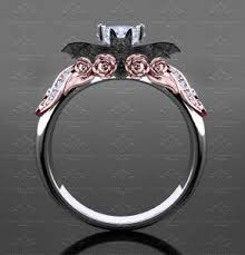 batman engagement rings valencia 1 30ct white gold bat engagement ring