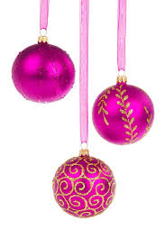 ornaments pink ornaments mini pink