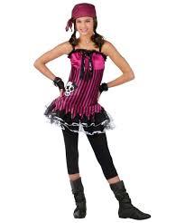 rockin skull pirate kids halloween costume girls costumes