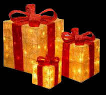 outdoor lighted gift boxes lighted outdoor christmas presents