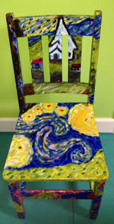 Painted Chairs Images 126 Best Painted Chairs Images On Pinterest Painted Chairs