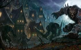 dark village wallpaper werewolves characters dark village warrior odwa jpg