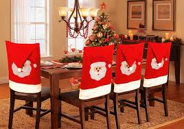 christmas chair covers santa chair covers