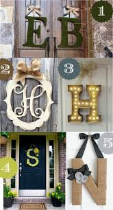 best 25 monogram door decor ideas on pinterest door monogram