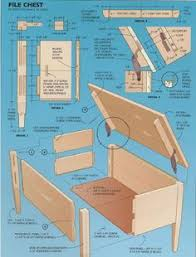 woodworking plans plans for building a hope chest free download