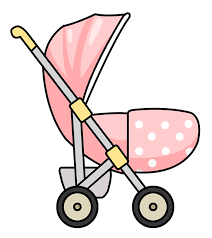 cute pink baby carriage clipart cliparts art inspiration