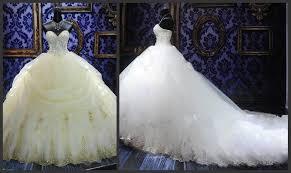 robe de mari e de princesse de luxe acheter 2015 luxe beaded broderie robe de mariée princesse gown