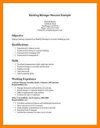 banking resume template