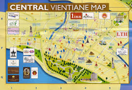 Map Of Laos Things To Do In Vientiane Laos