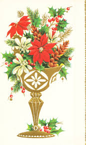 148 best old fashioned christmas cards poinsettias images on