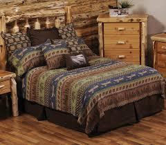 luxury cabin bedding lakeshore bedspreads black forest decor