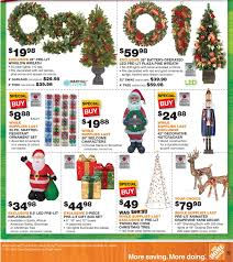 black friday home depot christmas tree black friday 2015 home depot ad scan buyvia