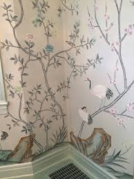 tnwallpaperhanger wallpaper installation chinoiserie chic dining