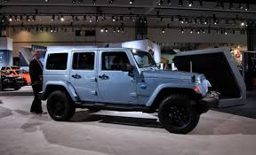 jeep wrangler rubicon colors 2012 jeep wrangler and liberty arctic special editions mush out of