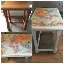 Shabby Chic Painting Techniques by Shabby Chic Nest Of Tables Painted In Annie Sloan Cream With
