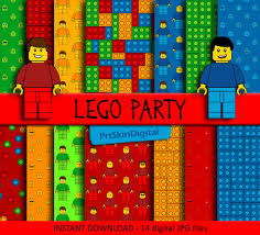 22 x lego paper free 5 png clipart digital patterns bright