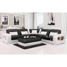 canapé luxe design canap d angle design en cuir salerno xl pop design fr avec canape d