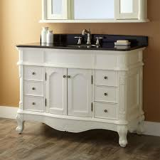 Bathroom Vanities Granite Top White Bathroom Vanity With Black Granite Top Bathroom Vanity