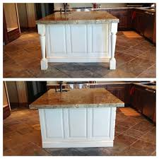 Wood Kitchen Island Legs Kitchen Island Decorative Legs Or Not With Kitchen Island Table