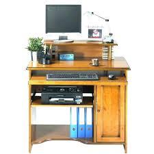 bureau informatique bois massif meuble informatique bois massif meuble ordinateur bois bureau