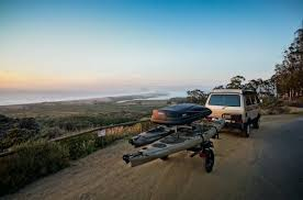 jeep kayak trailer sportsrig kayak trailers adventure trailers for sup u0027s bikes